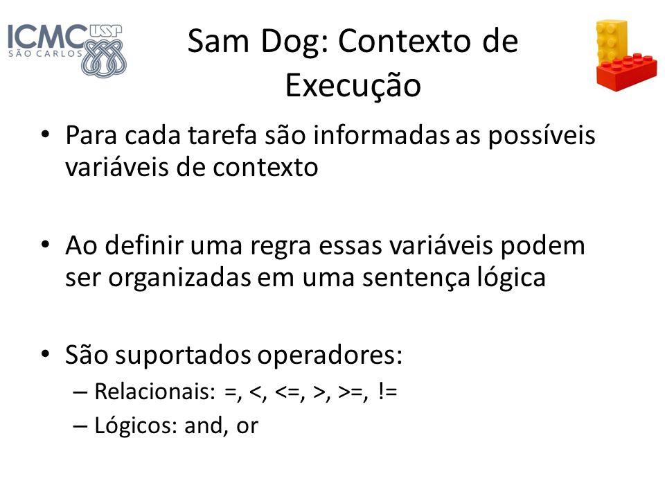 Sam Dog: Contexto de Execução