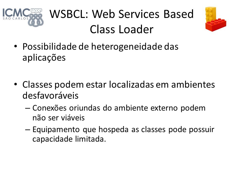 WSBCL: Web Services Based Class Loader