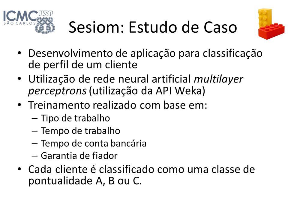 Sesiom: Estudo de Caso Desenvolvimento de aplicação para classificação de perfil de um cliente.