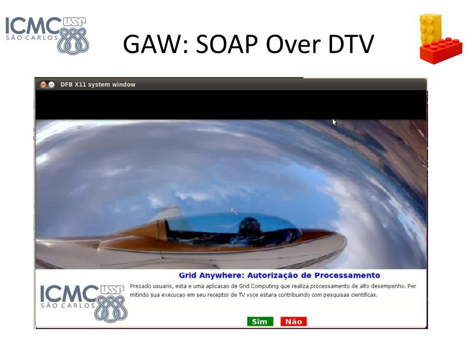 GAW: SOAP Over DTV