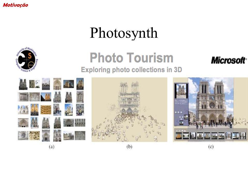 Motivação Photosynth