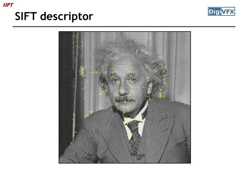 SIFT SIFT descriptor