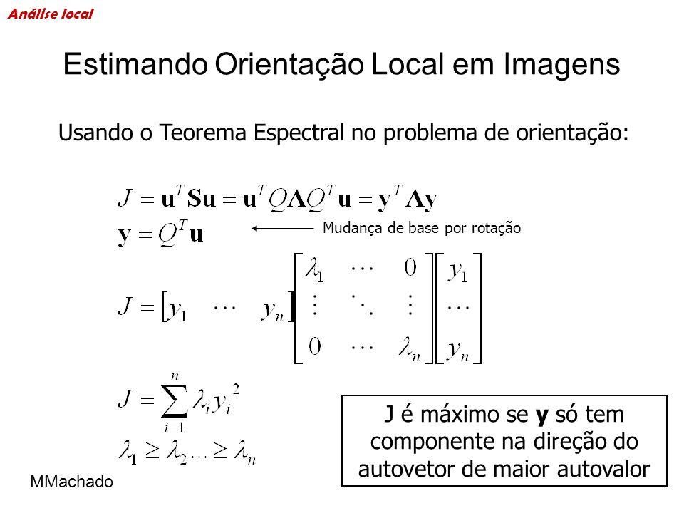 Estimando Orientação Local em Imagens