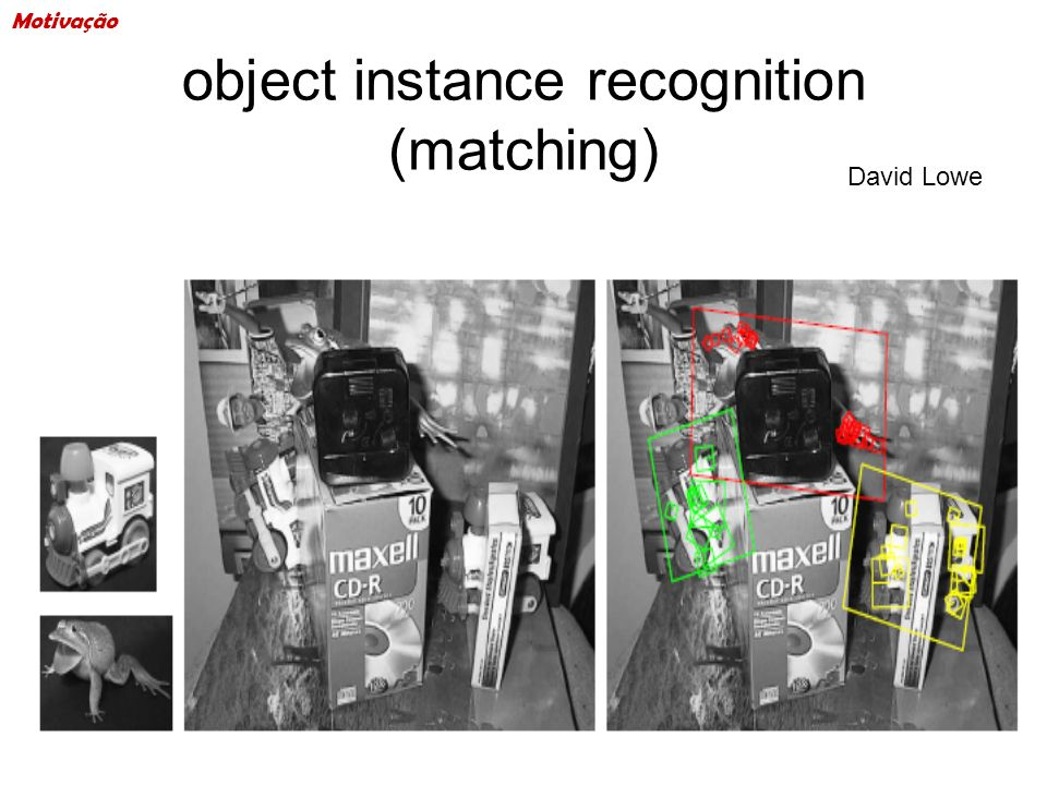 object instance recognition (matching)