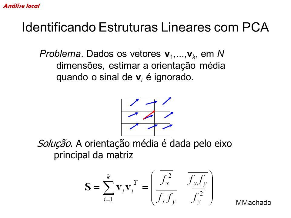 Identificando Estruturas Lineares com PCA