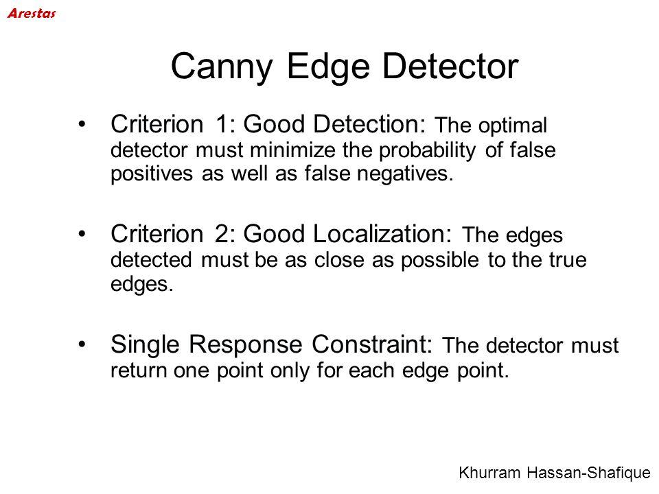 Arestas Canny Edge Detector.
