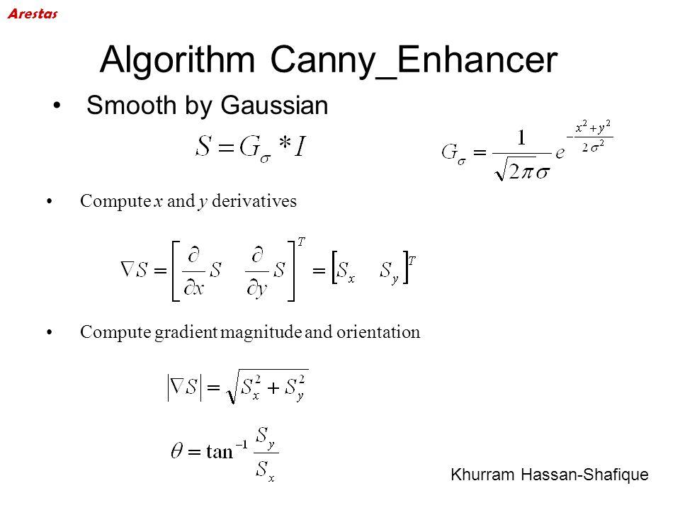 Algorithm Canny_Enhancer
