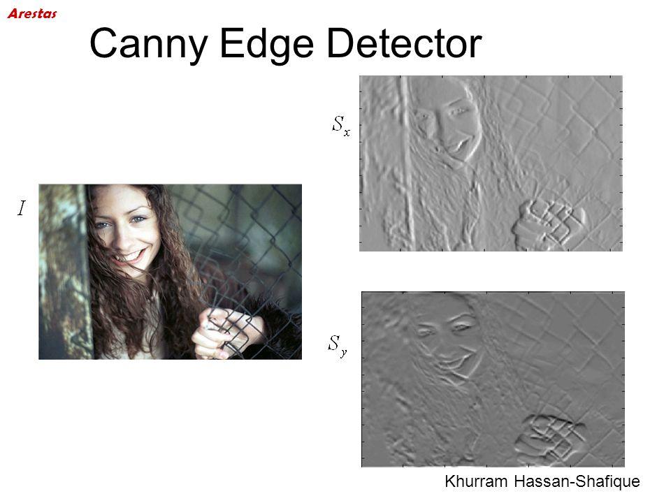 Canny Edge Detector Arestas Khurram Hassan-Shafique 48