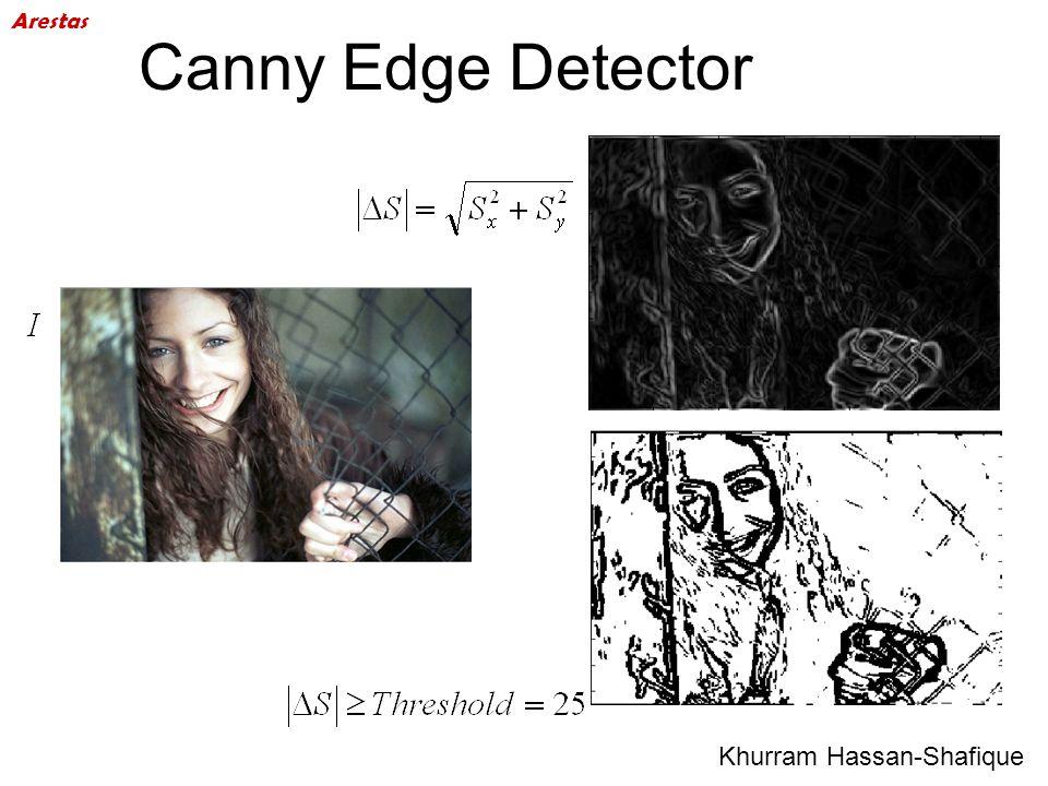 Canny Edge Detector Arestas Khurram Hassan-Shafique 49