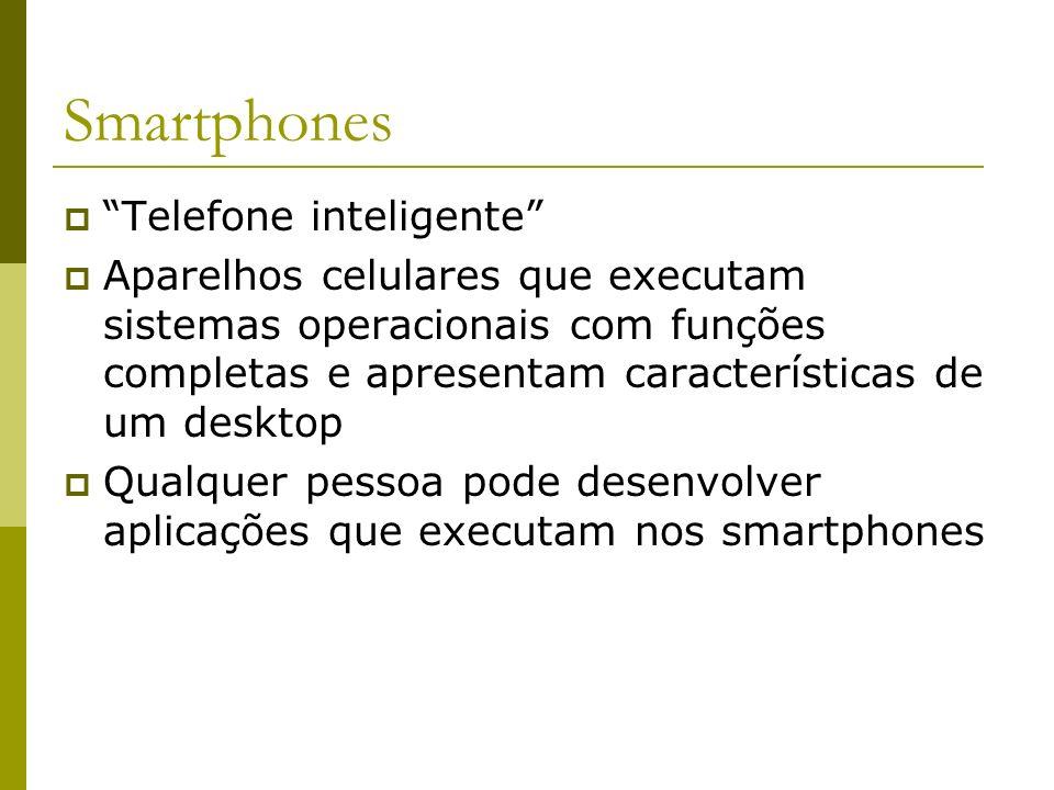 Smartphones Telefone inteligente