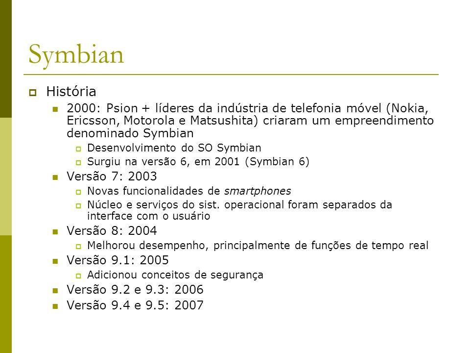 Symbian História.
