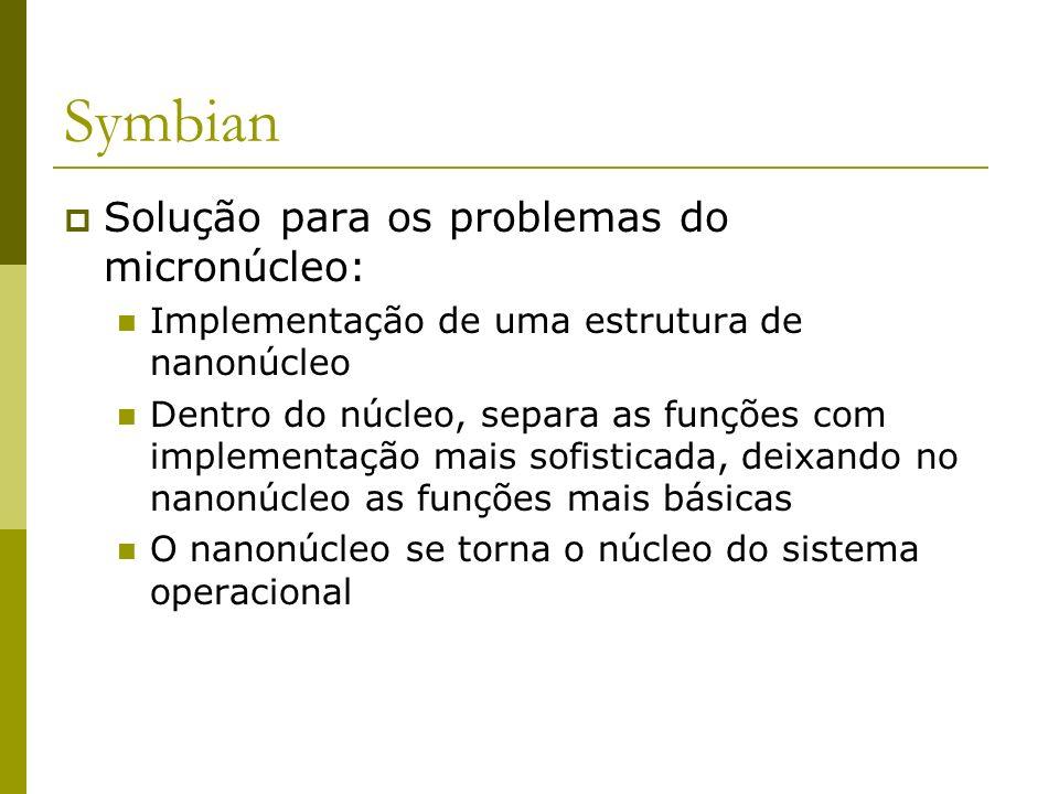 Symbian Solução para os problemas do micronúcleo: