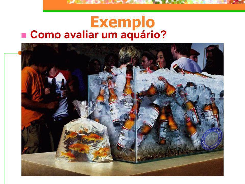 Exemplo Como avaliar um aquário