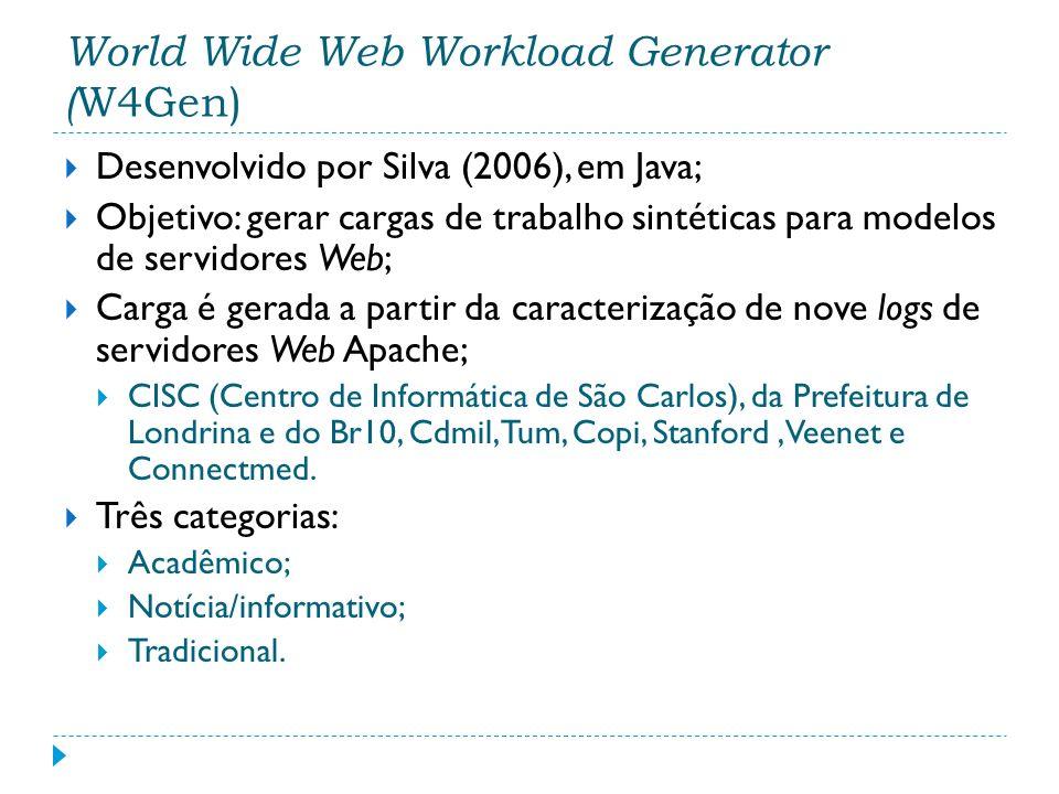 World Wide Web Workload Generator (W4Gen)