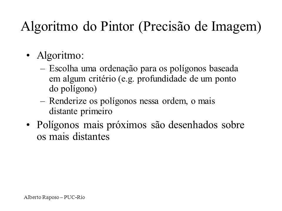Algoritmo do Pintor (Precisão de Imagem)