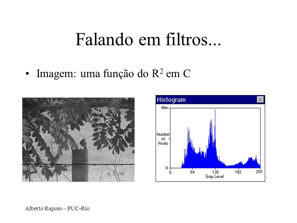 Falando em filtros... Imagem: uma função do R2 em C