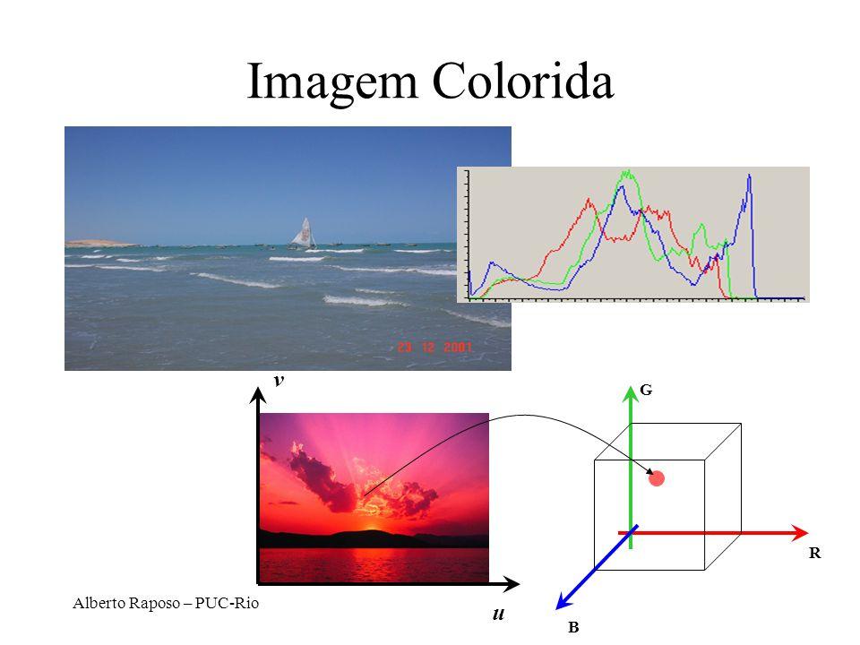 Imagem Colorida v G R Alberto Raposo – PUC-Rio u B