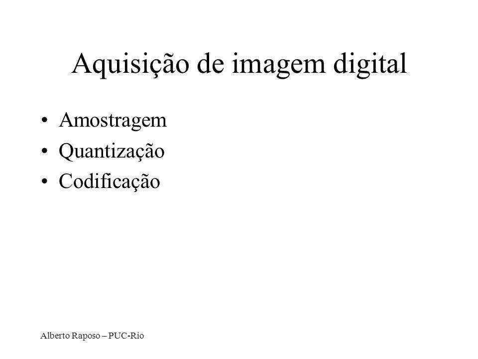 Aquisição de imagem digital