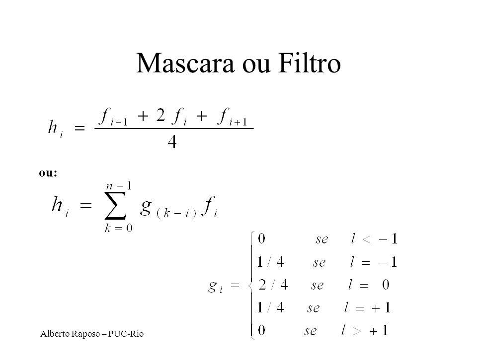 Mascara ou Filtro ou: Alberto Raposo – PUC-Rio