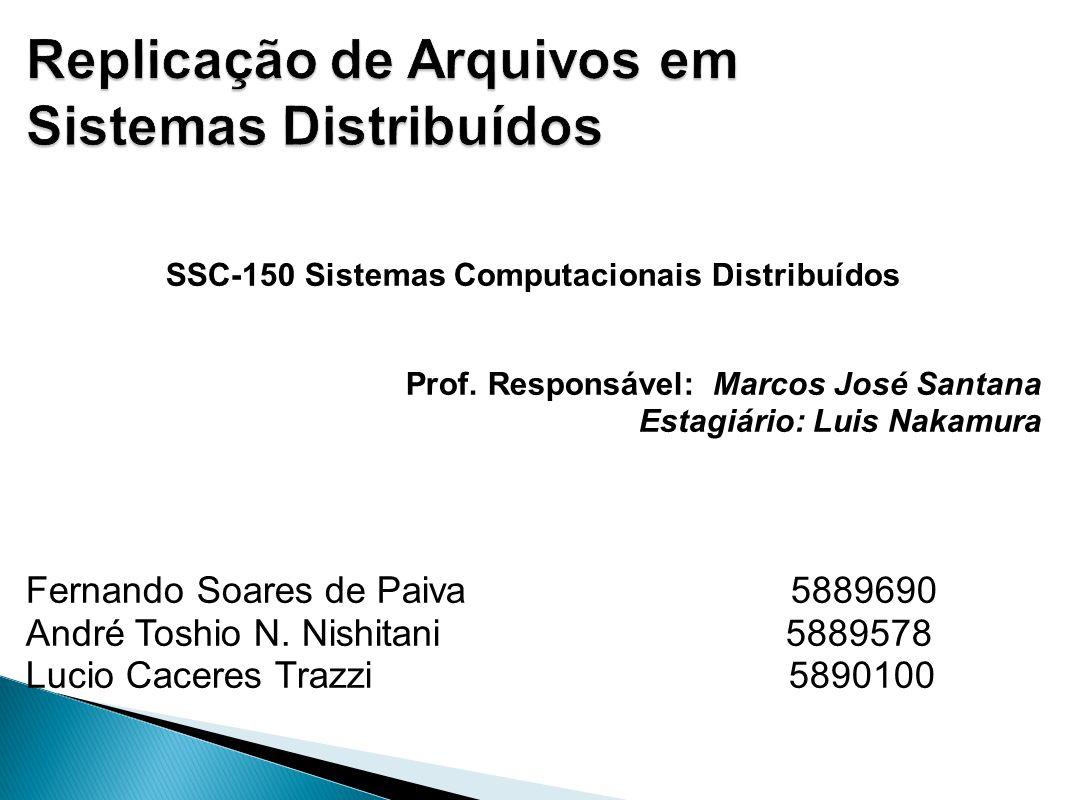 Replicação de Arquivos em Sistemas Distribuídos