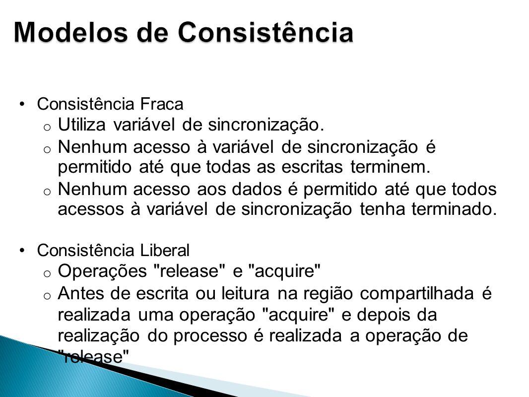 Modelos de Consistência