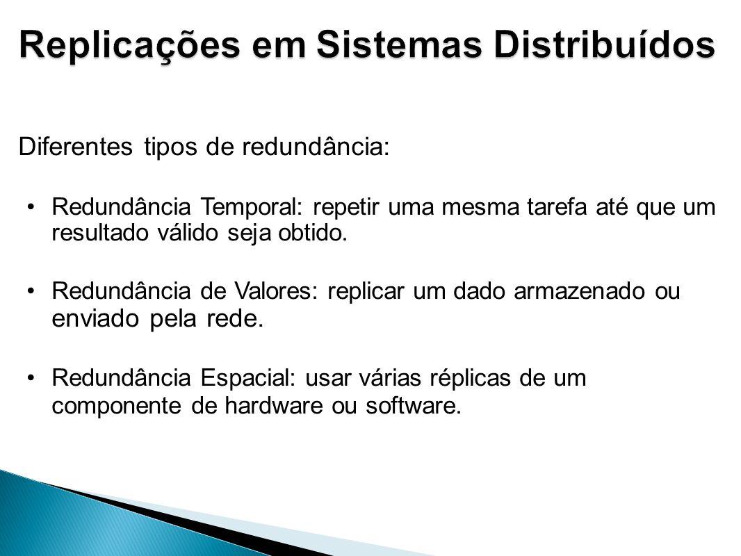 Replicações em Sistemas Distribuídos
