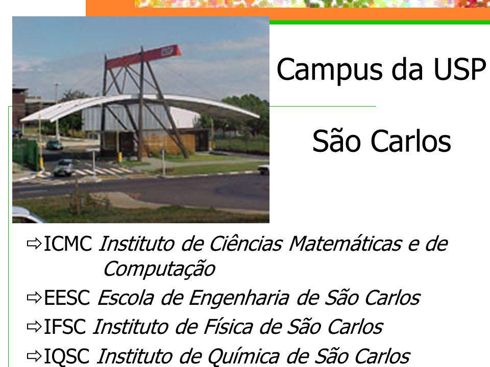 Campus da USP São Carlos