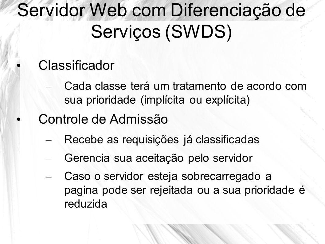 Servidor Web com Diferenciação de Serviços (SWDS)
