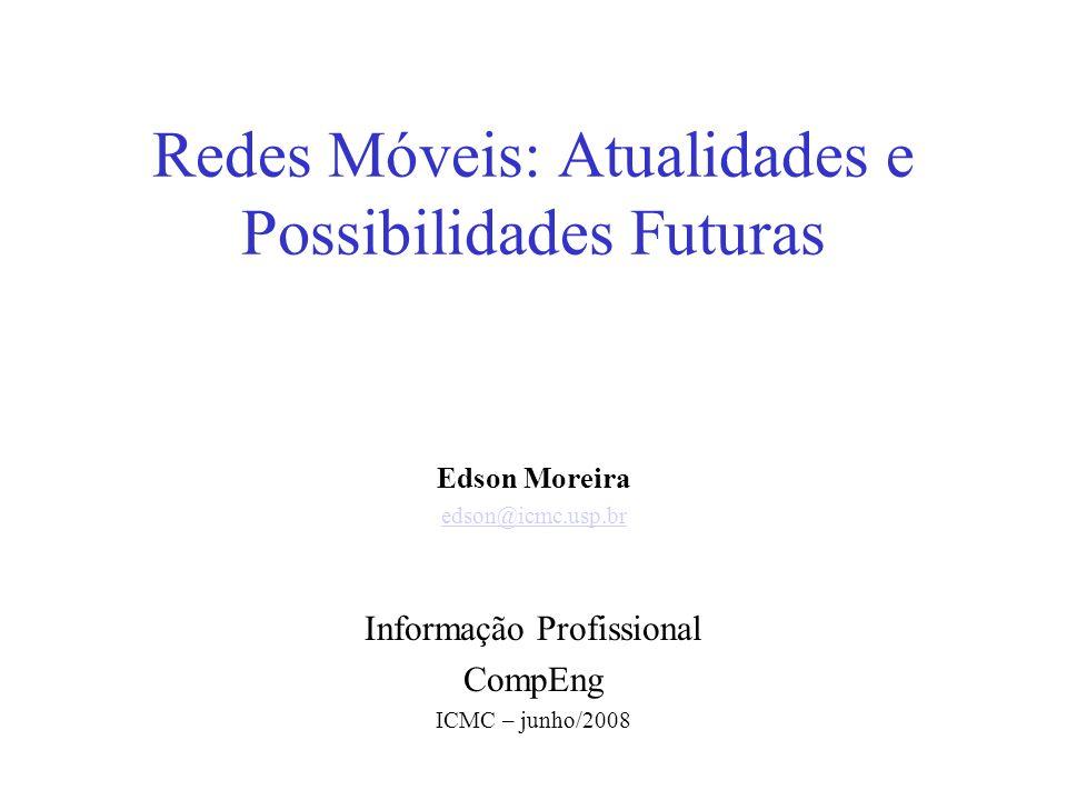 Redes Móveis: Atualidades e Possibilidades Futuras