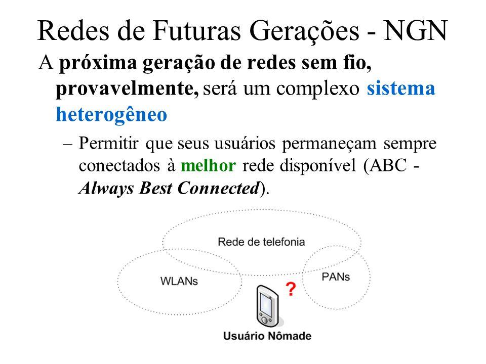 Redes de Futuras Gerações - NGN