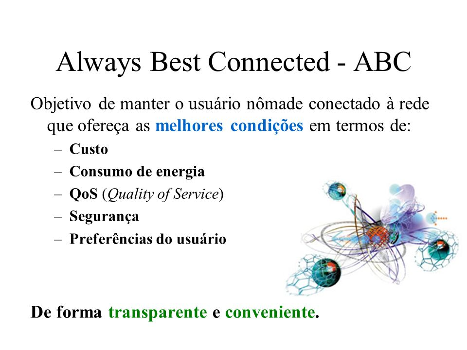 Always Best Connected - ABC
