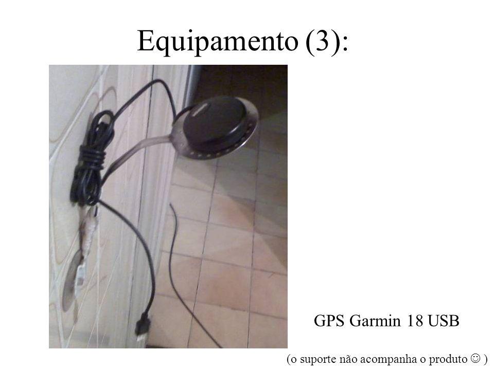 GPS Garmin 18 USB (o suporte não acompanha o produto  )