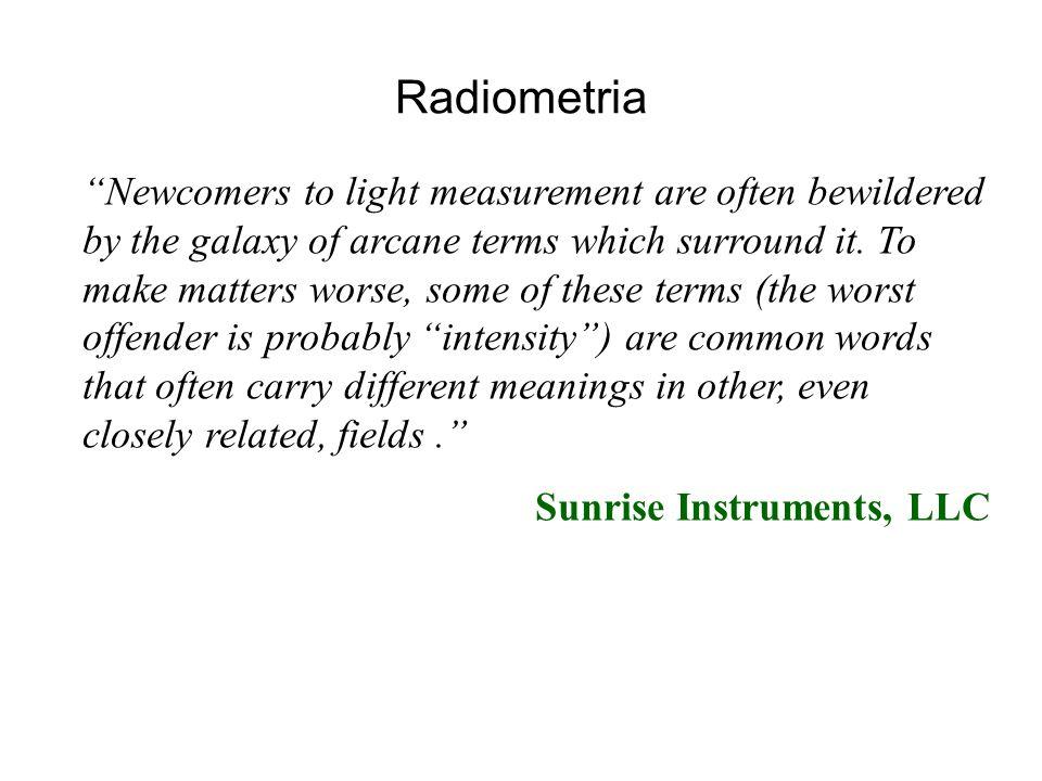 Radiometria