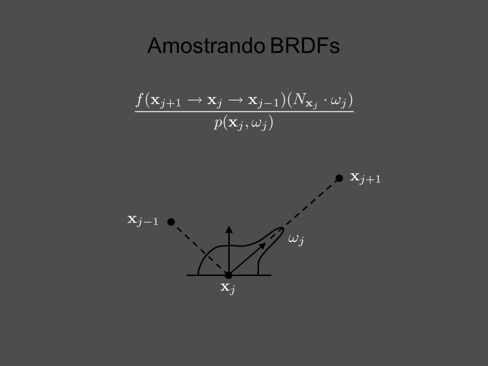Amostrando BRDFs