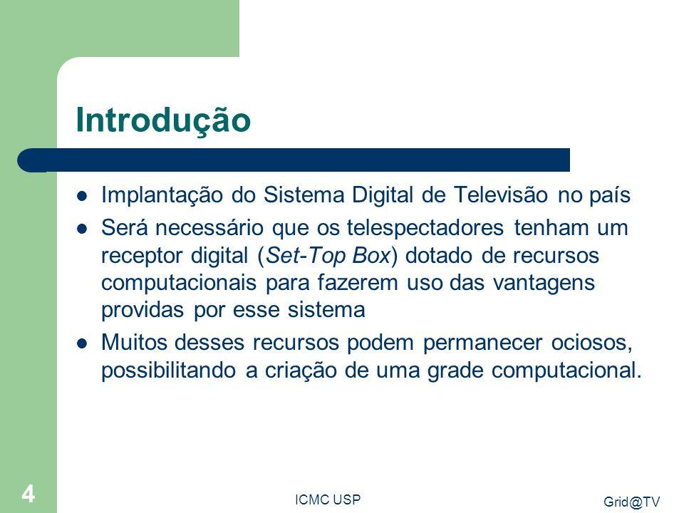 Introdução Implantação do Sistema Digital de Televisão no país