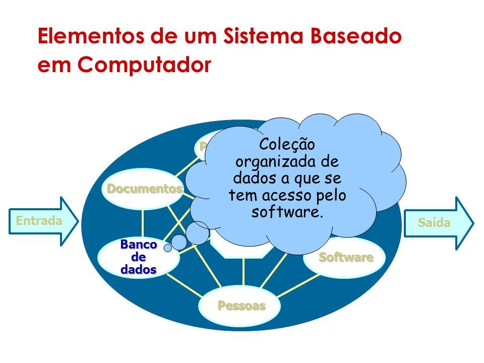 Elementos de um Sistema Baseado em Computador