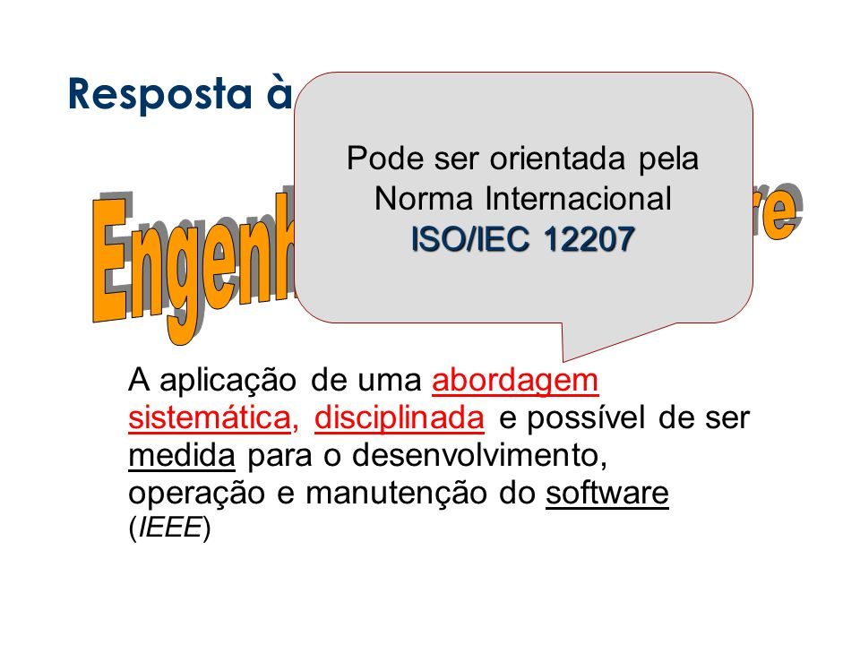 Resposta à Crise de Software