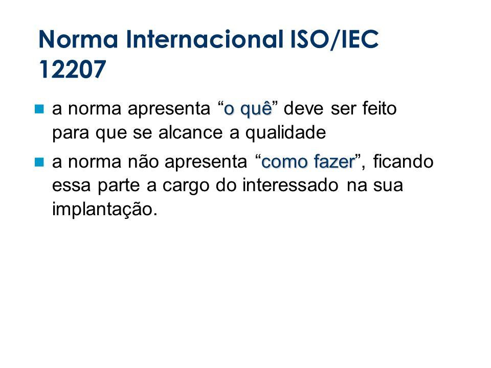 Norma Internacional ISO/IEC 12207