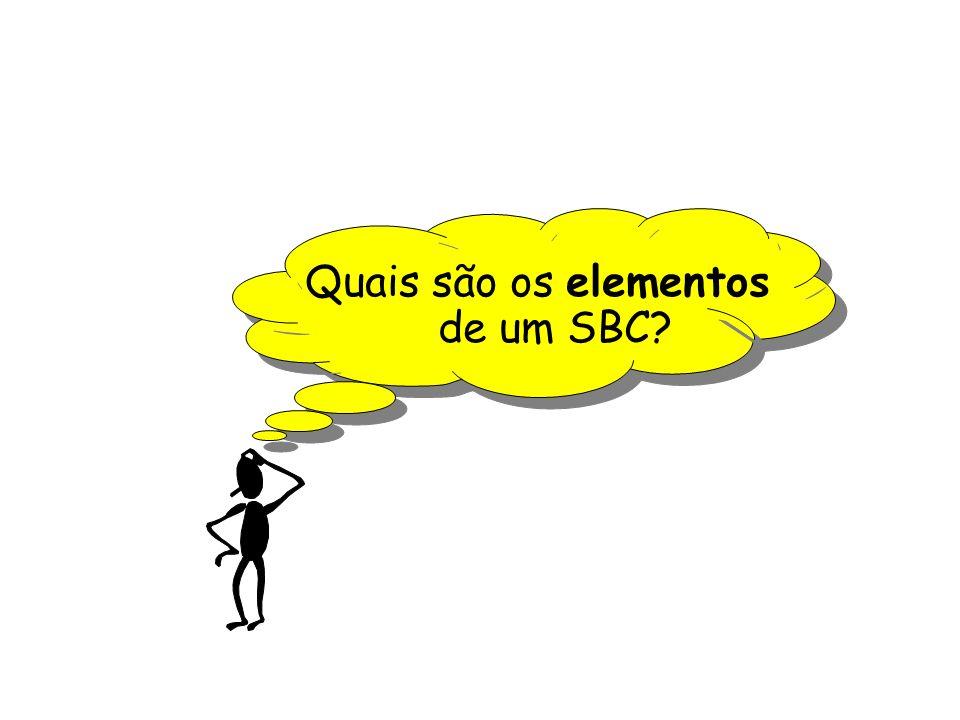 Quais são os elementos de um SBC