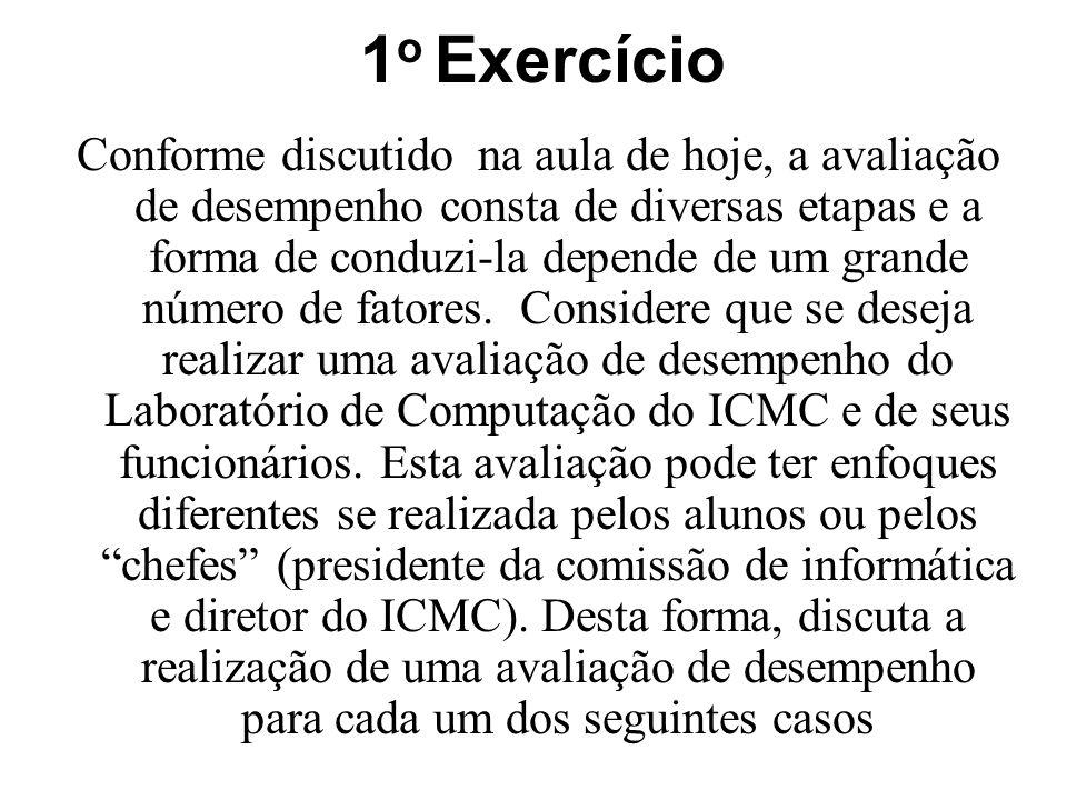 1o Exercício