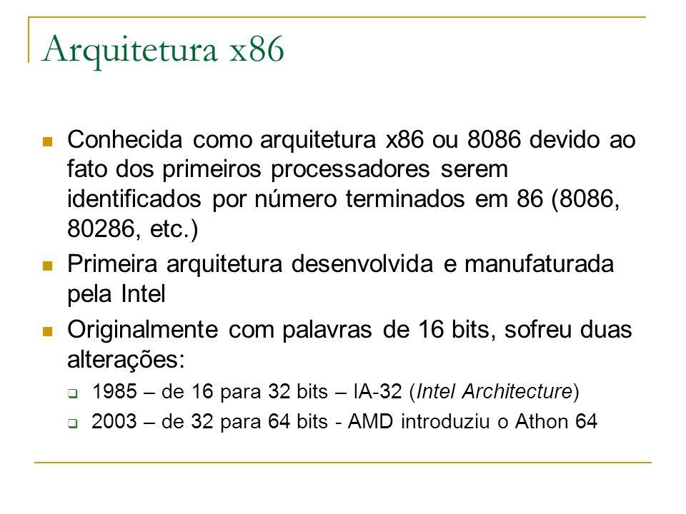 Arquitetura x86