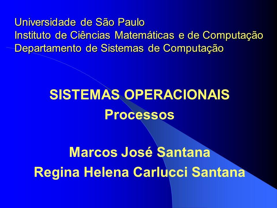 SISTEMAS OPERACIONAIS Regina Helena Carlucci Santana