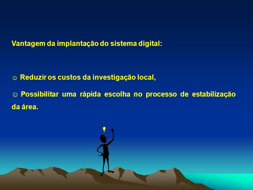 Vantagem da implantação do sistema digital: