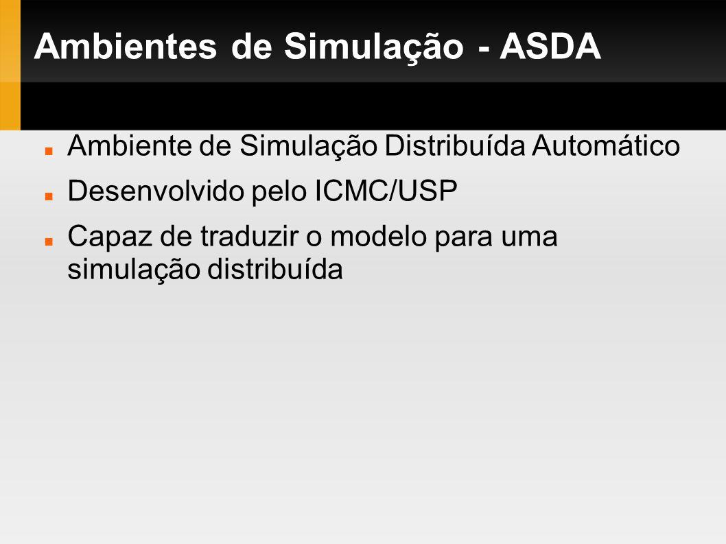 Ambientes de Simulação - ASDA