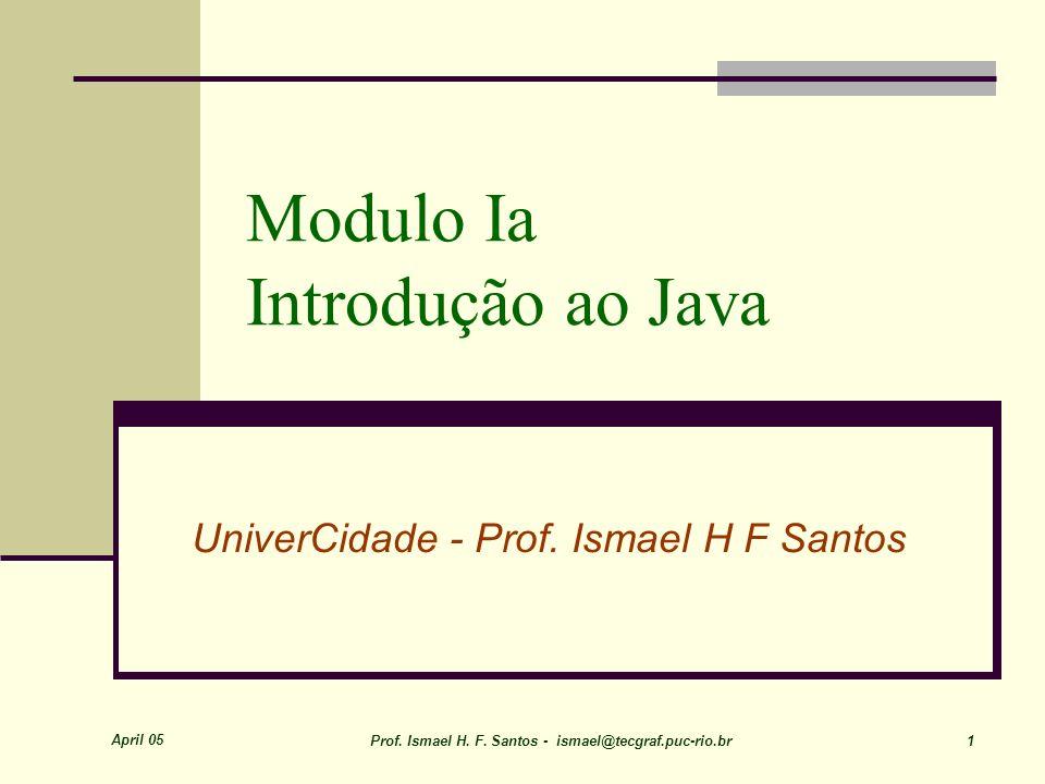 Modulo Ia Introdução ao Java