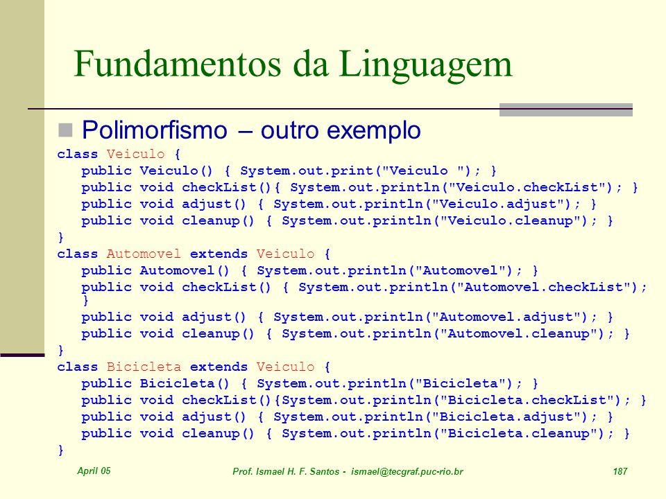 Fundamentos da Linguagem