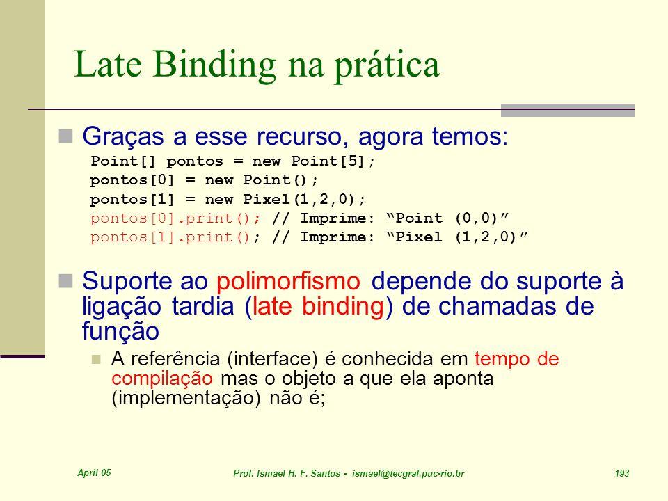Late Binding na prática