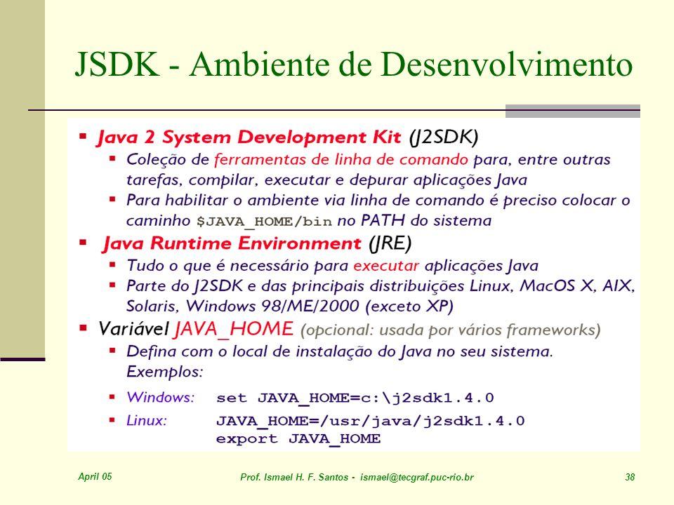 JSDK - Ambiente de Desenvolvimento