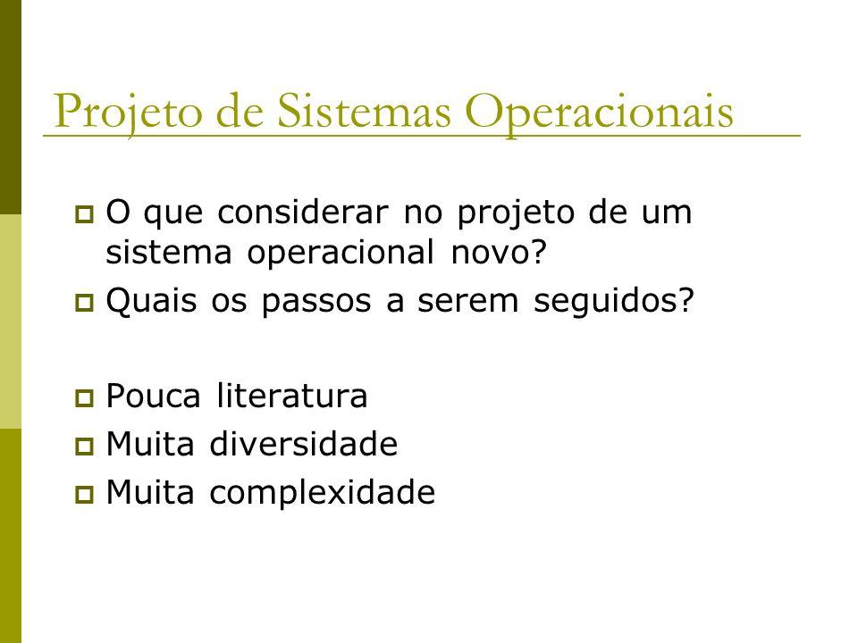 Projeto de Sistemas Operacionais