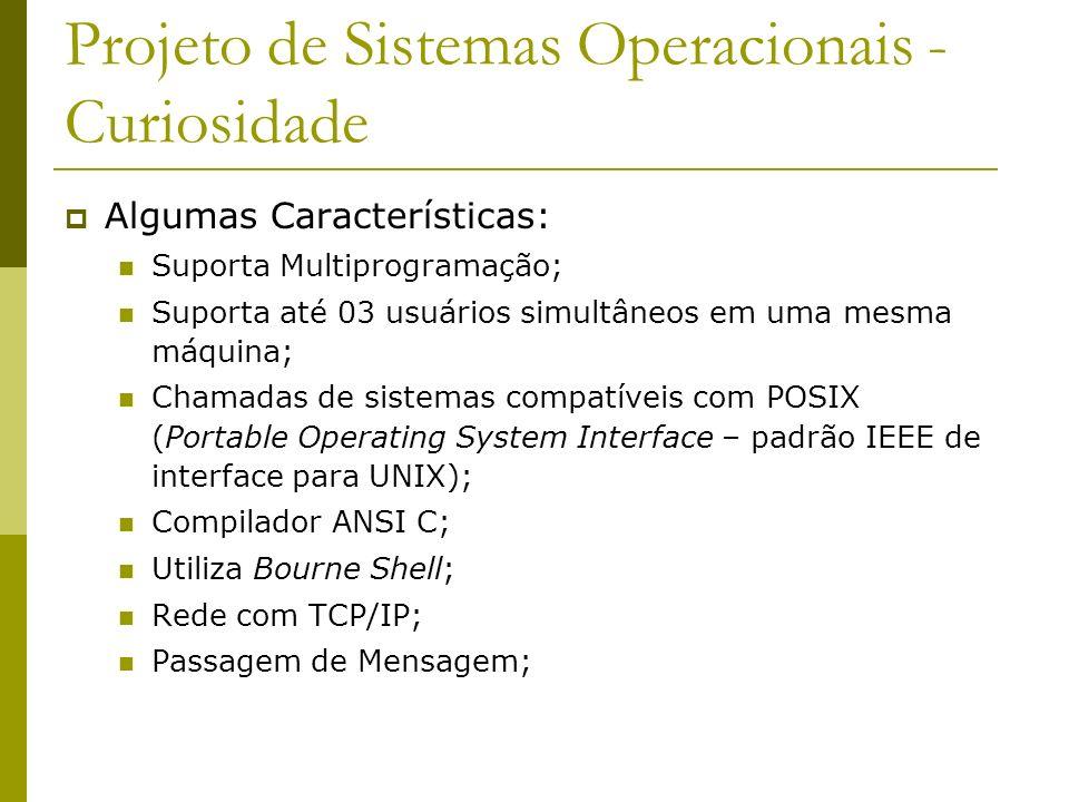 Projeto de Sistemas Operacionais - Curiosidade